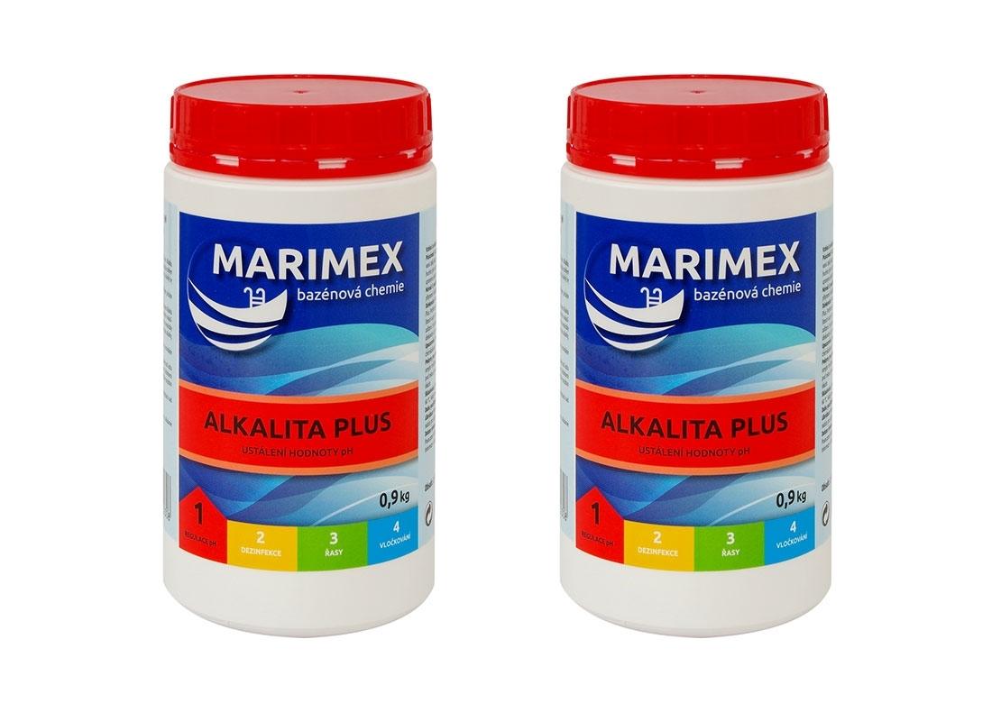Marimex Aquamar Alkalita plus 0,9 kg - sada 2 ks - 19900067
