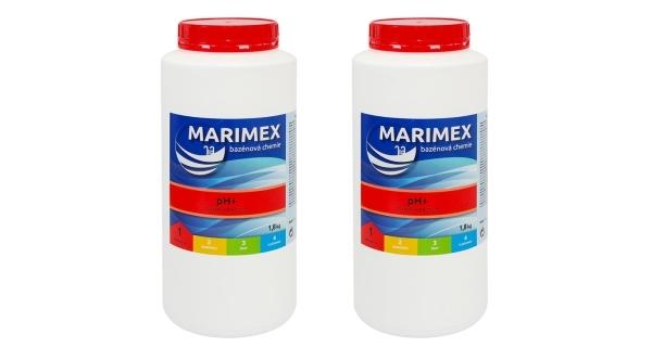 Aquamar pH+ 1,8 kg - sada 2ks