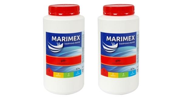 Aquamar pH- 2,7 kg - sada 2 ks