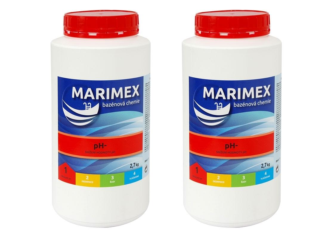 Marimex AQuaMar pH- 2,7 kg - sada 2 ks - 19900073