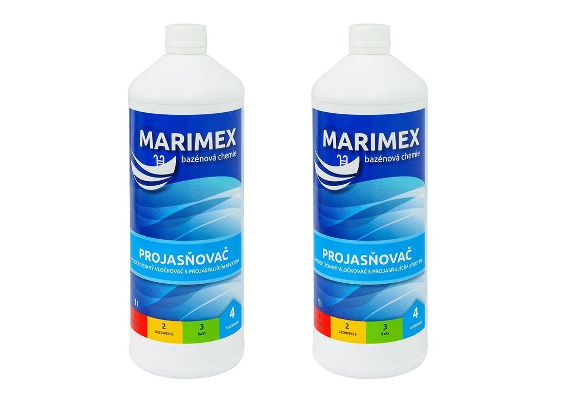 Marimex AQuaMar Projasňovač 1l - sada 2 ks - 19900033