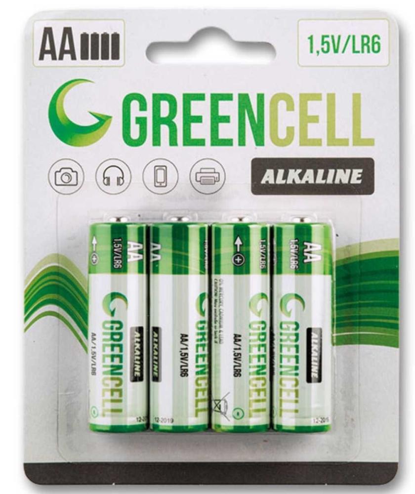 Marimex Baterie tužkové GreenCell AA - 4 ks - 18000432