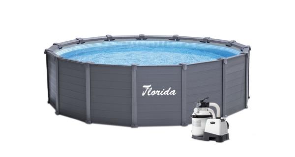 Bazén Dakota 4,78x1,24 m s pískovou filtrací