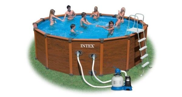 Bazén Dakota 4,78x1,24 m s pískovou filtrací Sand 4