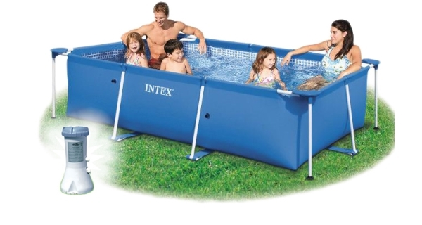 Bazén Florida 1,5x2,2x0,6 m s kartušovou filtrací