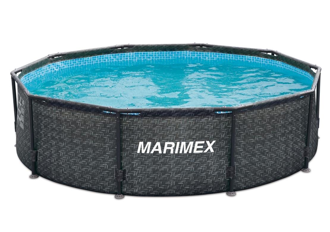 Marimex Bazén Florida 3,05x0,76 m bez filtrace - motiv RATAN - 10340234