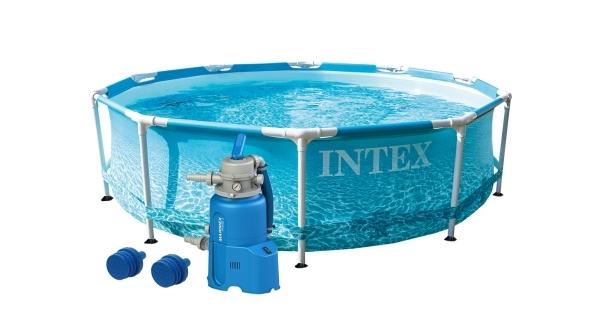 Bazén Florida 3,05x0,76 m s pískovou filtrací - motiv BEACHSIDE