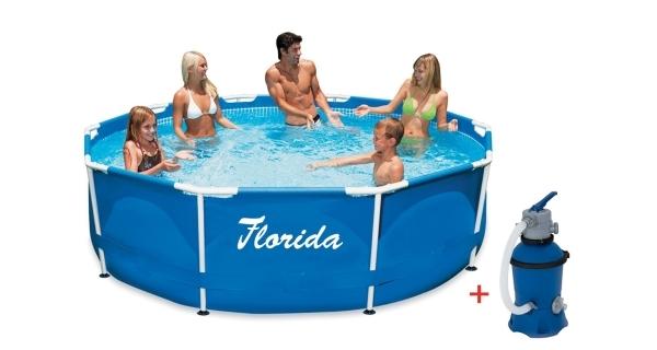 Bazén Florida 3,05x0,76 m s pískovou filtrací ProStar 2