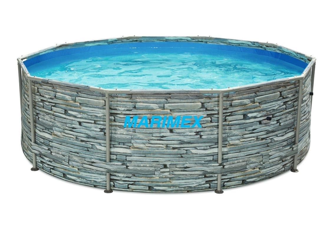 Marimex Bazén Florida 3,05x0,91 m bez filtrace - motiv KÁMEN - 10340245