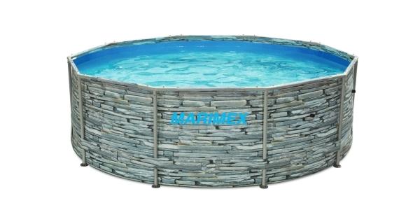 Bazén Florida 3,05x0,91 m bez příslušenství - motiv KÁMEN