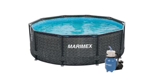 Bazén Florida 3,05x0,91 m s pískovou filtrací - motiv RATAN