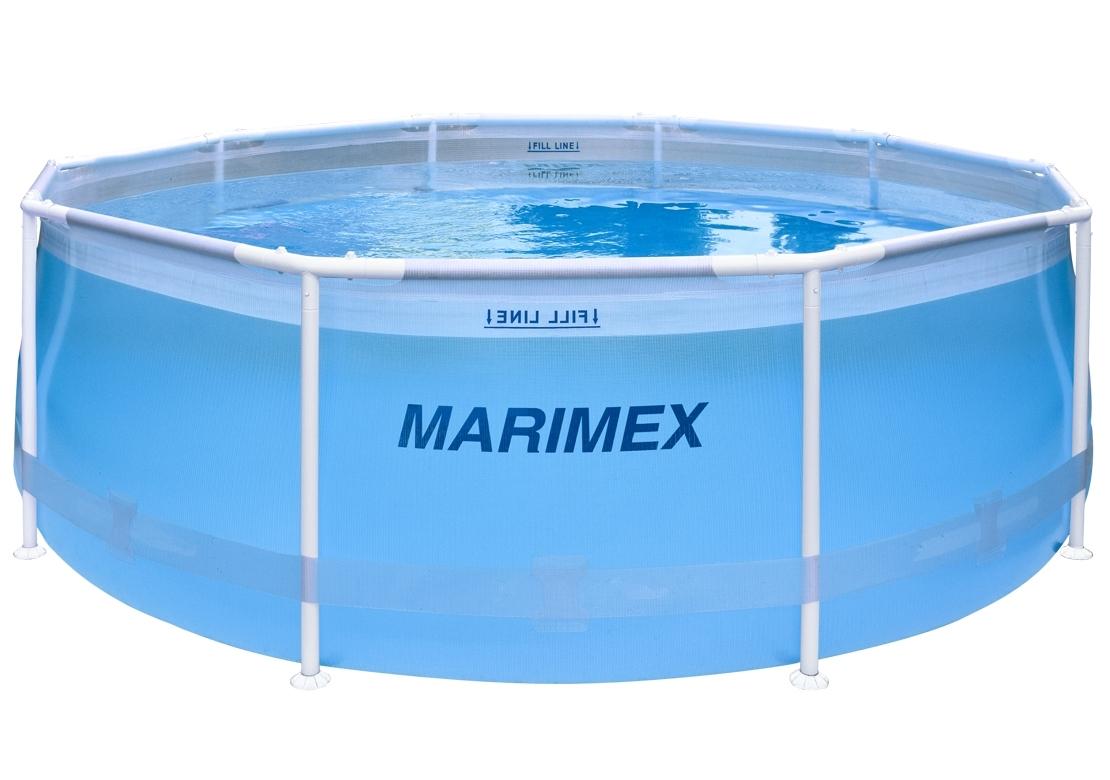 Marimex Bazén Florida 3,05x0,91m bez příslušenství - motiv transparentní - 10340267
