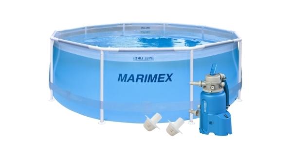 Bazén Florida 3,05x0,91m s pískovou filtrací - motiv transparentní