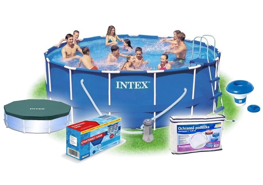 Marimex Bazén Florida 3,05x076 m s filtrací a příslušenstvím - 10340058