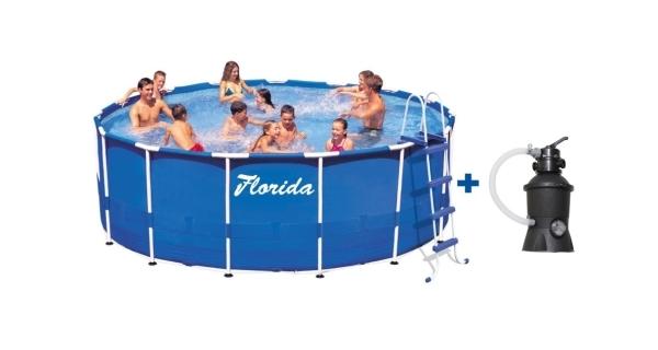 Bazén Florida 3,66x0,76 m  + písková filtrace 2m3/hod.