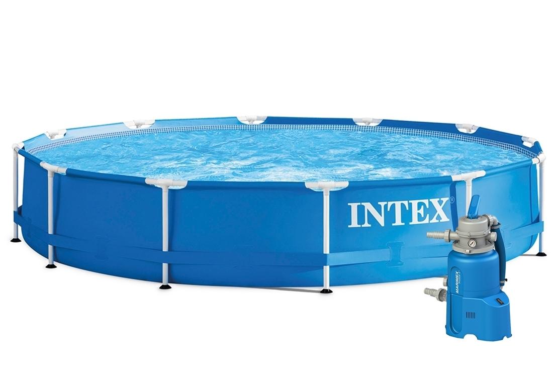 Marimex Bazén Florida 3,66x0,76 m s pískovou filtrací - 10340171