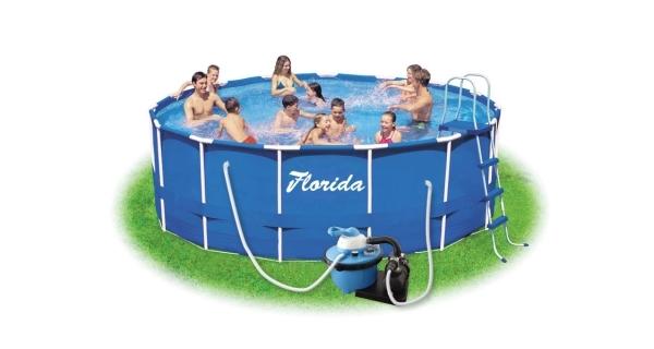 Bazén Florida 3,66x0,76 m s pískovou filtrací ProStar 4