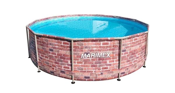 Bazén Florida 3,66x0,99 m bez filtrace - motiv CIHLA