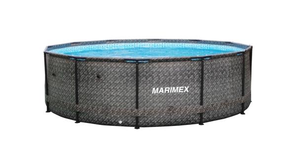 Bazén Florida 3,66x0,99 m  bez filtrace - motiv RATAN