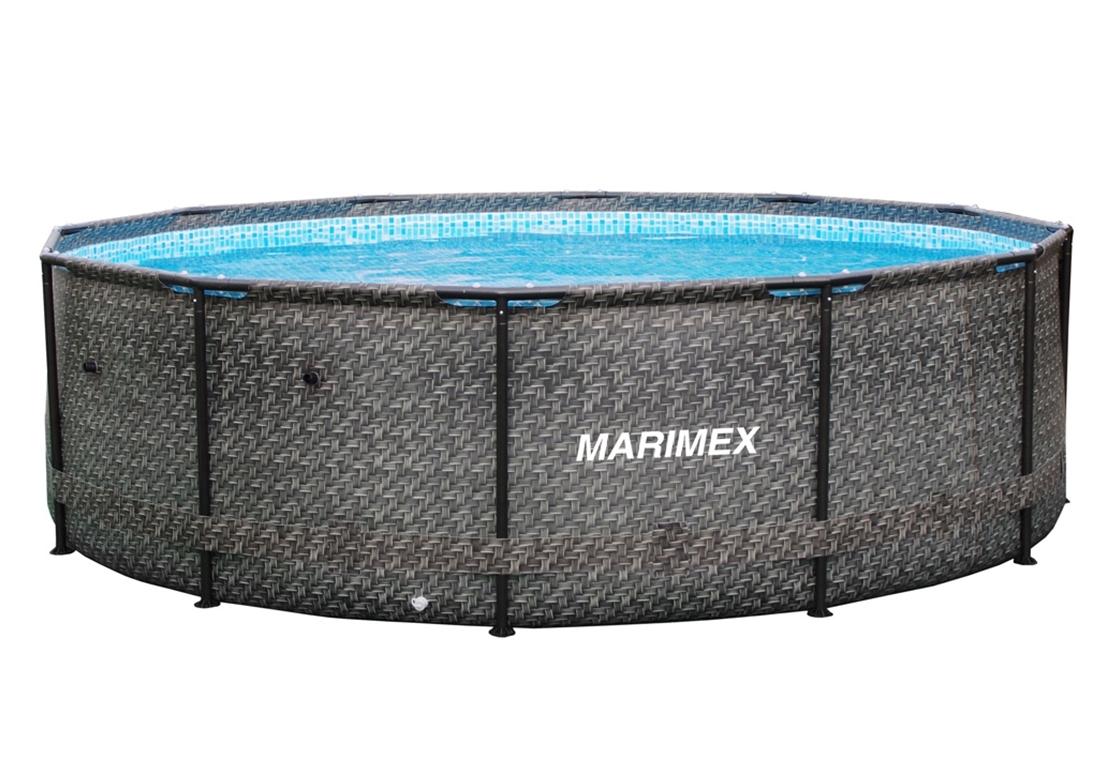 Marimex Bazén Florida 3,66x0,99 m bez filtrace - motiv RATAN - 10340213