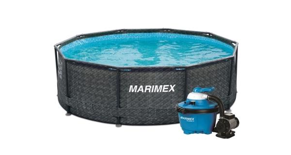Bazén Florida 3,66x0,99 m - motiv RATAN s pískovou filtrací