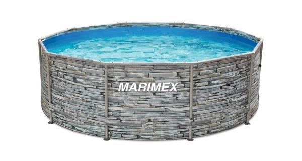Bazén Florida 3,66x1,22 m bez příslušenství - motiv KÁMEN