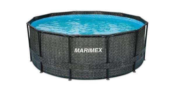 Bazén Florida 3,66x1,22 m bez příslušenství - motiv RATAN