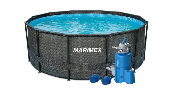 Bazén Florida 3,66x1,22 m s pískovou filtrací - motiv RATAN