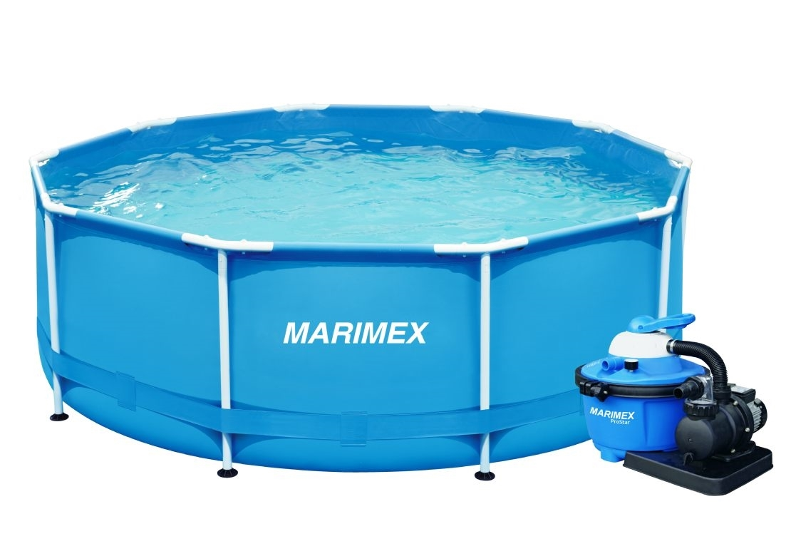 Marimex Bazén Florida 3,66x1,22 m s pískovou filtrací ProStar 6 - 19900101