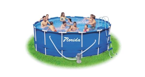 Bazén Florida 4,57x1,07 m s kartušovou filtrací