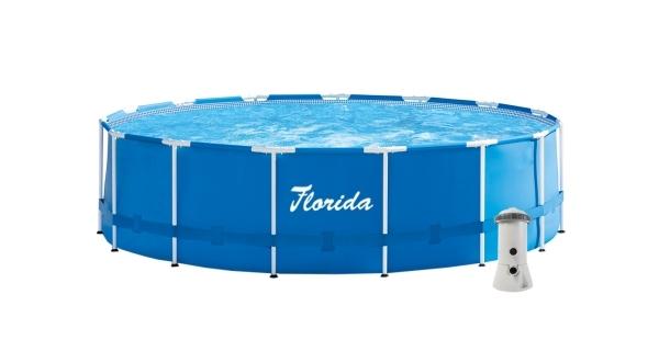 Bazén Florida 4,57x1,22 m s kartušovou filtrací