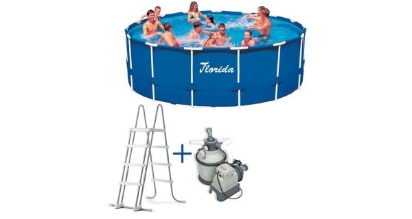 Bazén Florida 4,57x1,22 m s pískovou filtrací Sand 4