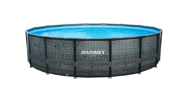 Bazén Florida 4,57x1,32 m bez filtrace - motiv RATAN