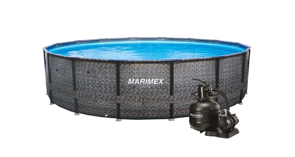 Bazén Florida 4,57x1,32 m s pískovou filtrací - motiv RATAN