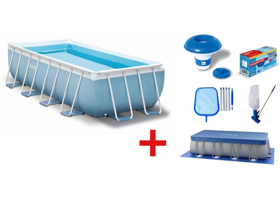 Marimex Bazén Florida Premium 2,00 x 4,00 x 1,00 m s kartušovou filtrací a příslušenstvím - 19900040