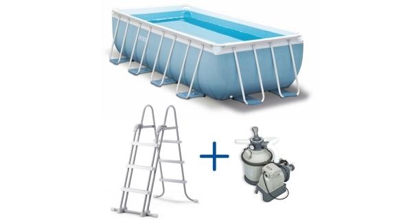 Bazén Florida Premium 2,00 x 4,00 x 1,00 m. s pískovou filtrací