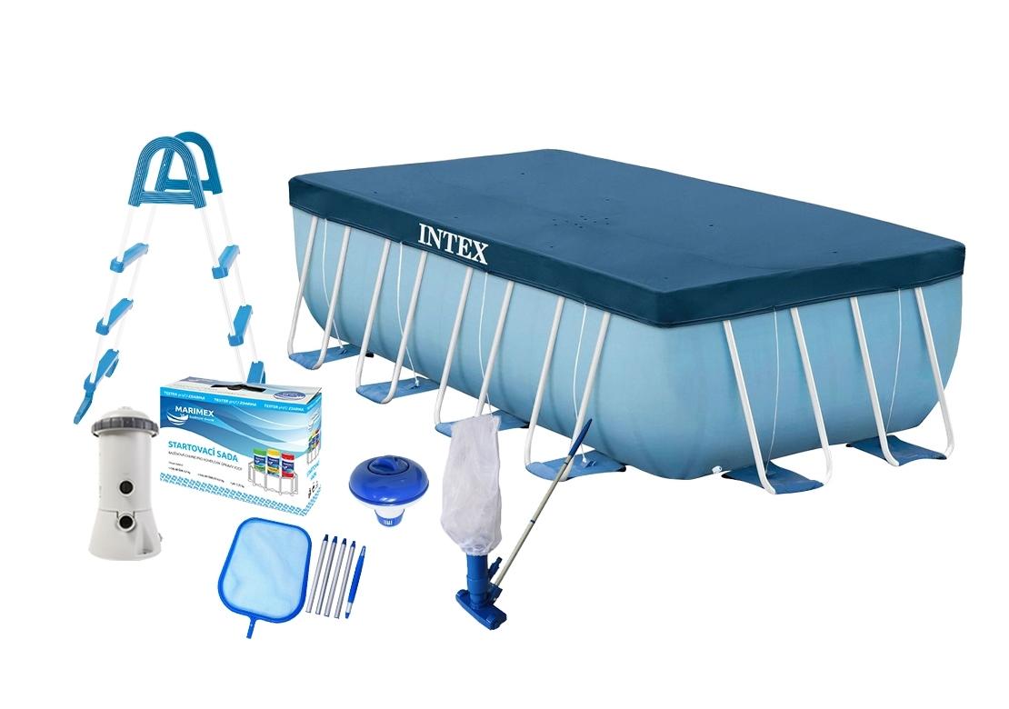 Marimex Bazén Florida Premium 2,00x4,00x1,00 m s kartušovou filtrací a příslušenstvím - 19900040