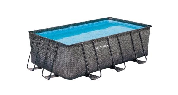 Bazén Florida Premium 2,15x4,00x1,22 m bez filtrace - motiv RATAN
