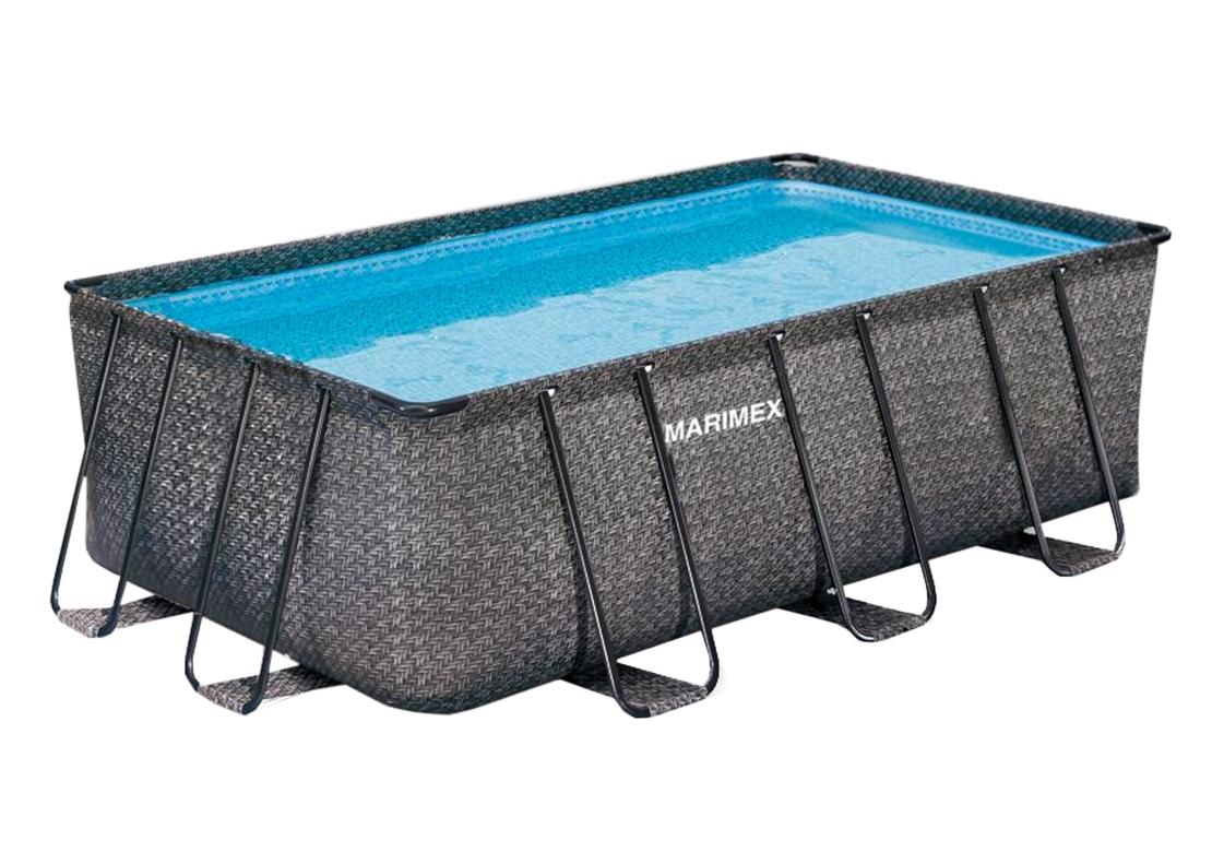Marimex Bazén Florida Premium 2,15x4,00x1,22 m bez filtrace - motiv RATAN - 10340215