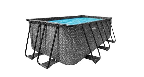 Bazén Florida Premium 2,15x4,00x1,22 m bez příslušenství - motiv RATAN