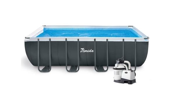 Bazén Florida Premium 2,74x5,49x1,32 m s pískovou filtrací Sand 4