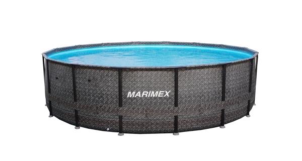 Bazén Florida Premium 4,88x1,22 m bez příslušenství - motiv RATAN