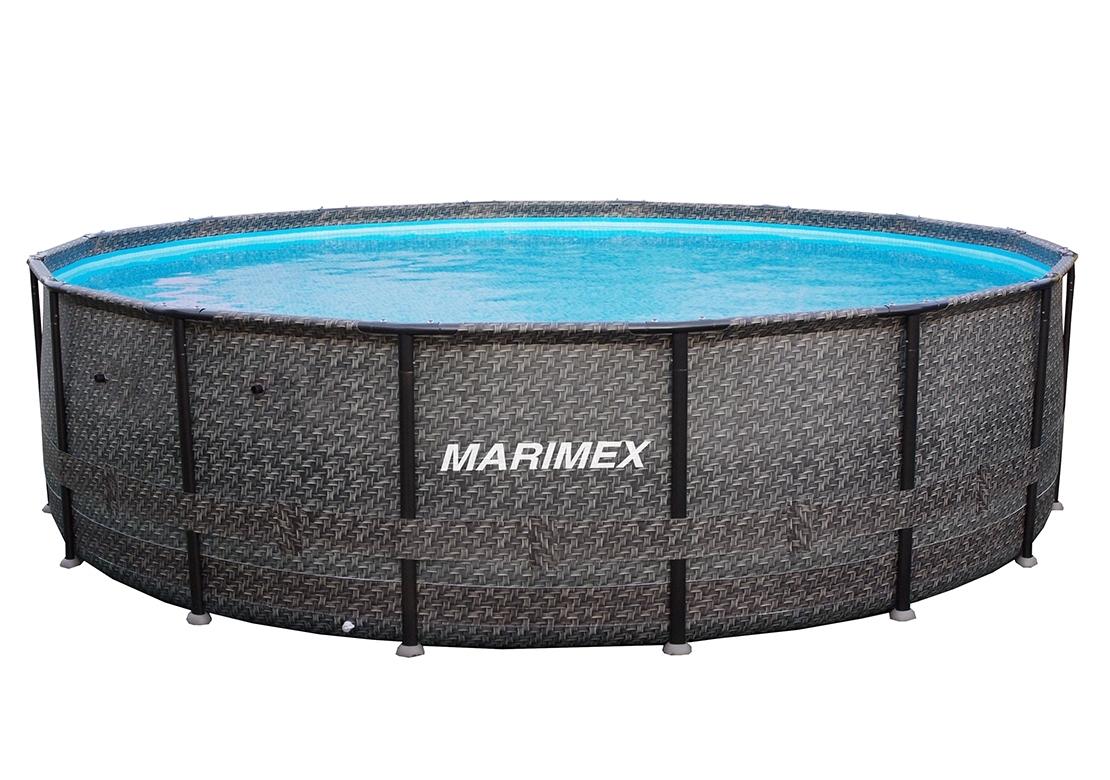 Marimex Bazén Florida Premium 4,88x1,22 m bez příslušenství - motiv RATAN - 10340214