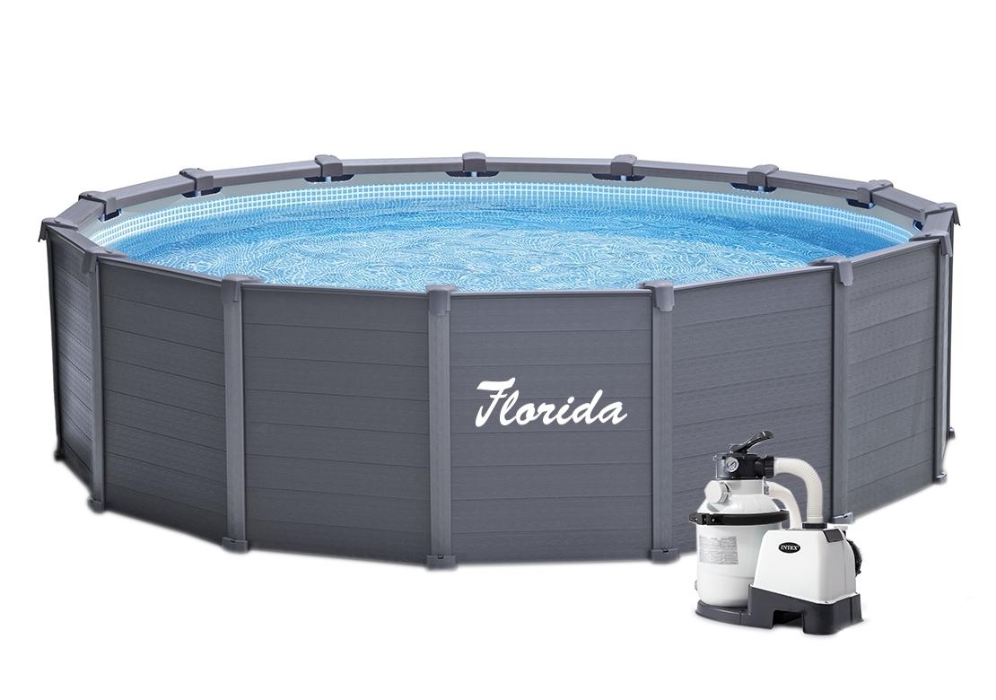 Marimex Bazén Florida Premium Dakota 4,78x1,24 m s pískovou filtrací - 10340072
