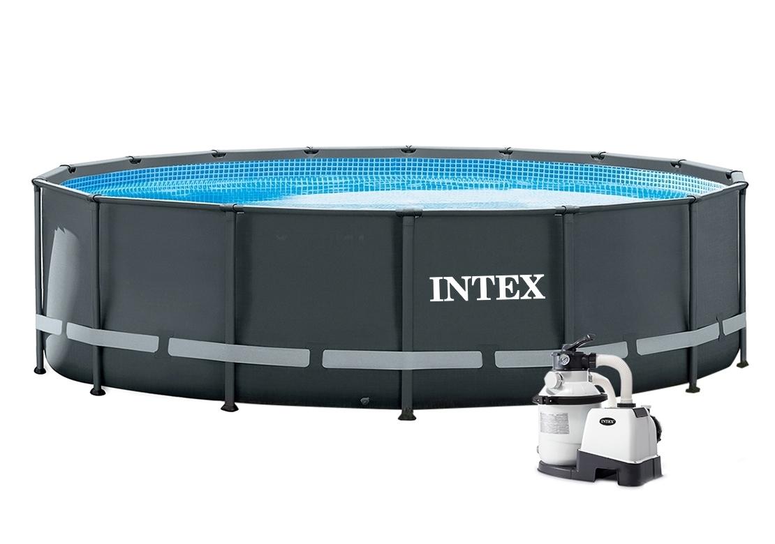 Intex Premium Grey 4,88 x 1,22 m 28324