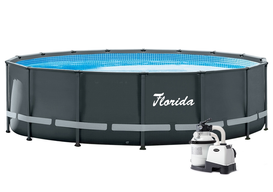 Marimex Bazén Florida Premium Grey 4,88x1,22 m s pískovou filtrací Sand 4 - 10340037