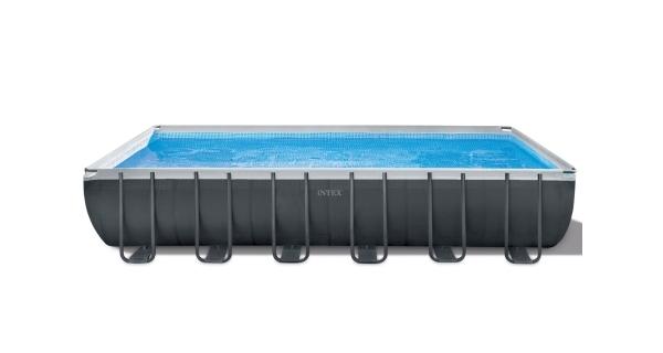 Bazén Florida Premium Grey 7,32x3,66x1,32 m s pískovou filtrací a příslušenstvím