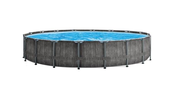 Bazén Florida Premium Greywood 5,49x1,22 m + filtrace a příslušenství