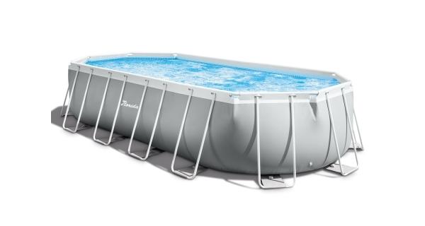 Bazén Florida Premium ovál 5,03x2,74x1,22 m s kartušovou filtrací a příslušenstvím