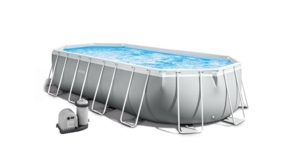 Bazén Florida Premium ovál 6,10x3,05x1,22 m s kartušovou filtrací a příslušenstvím